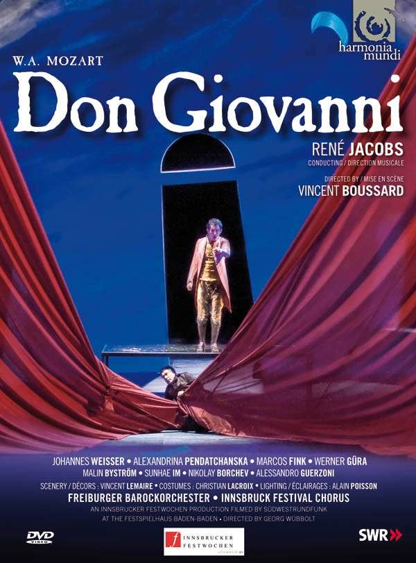 Mozart Don Giovanni DVD